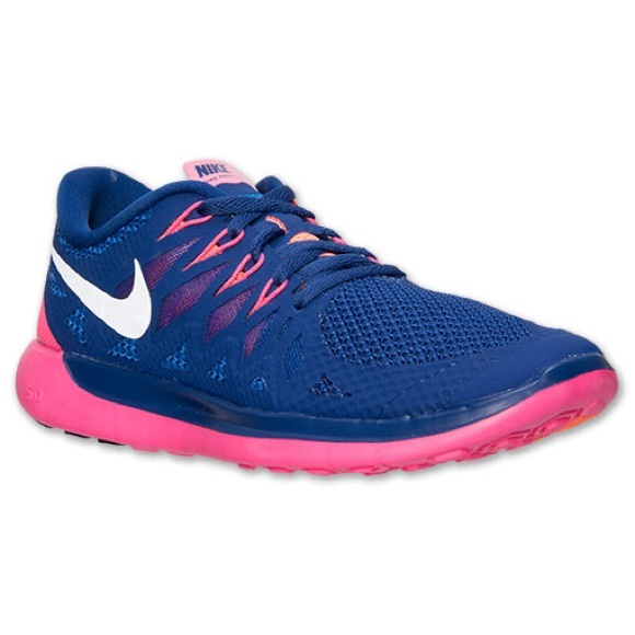 sale retailer 4f8a8 0bd85 Like New Nike Free 5.0 Running Shoes Blue Pink. M 5b6749951b16dbf7b2d6e8a4